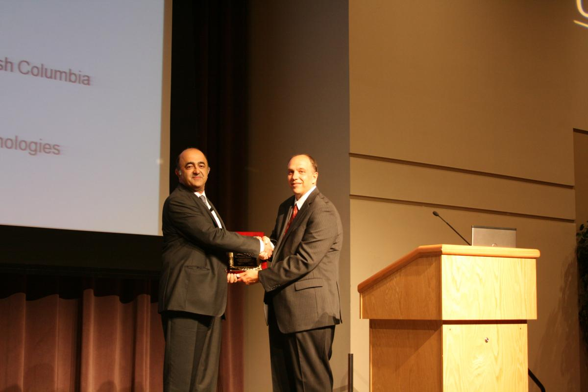 awarded the ASTM International Wayne W. Stinchcomb Memorial Lecture and Award