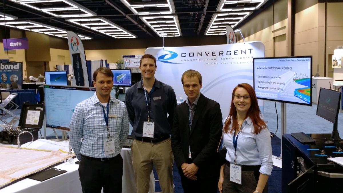 Convergent Team at SAMPE Seattle 2014