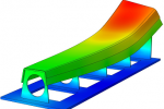 Thermal gradients in spar and tool