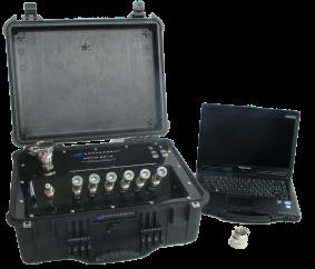 COHO 601 gas flow and vacuum bag leak detection system